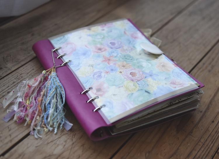 """""""好き""""や""""ワクワク""""を集めて自分好みにアレンジできるClipbook(クリップブック)[オリジナル手帳]"""